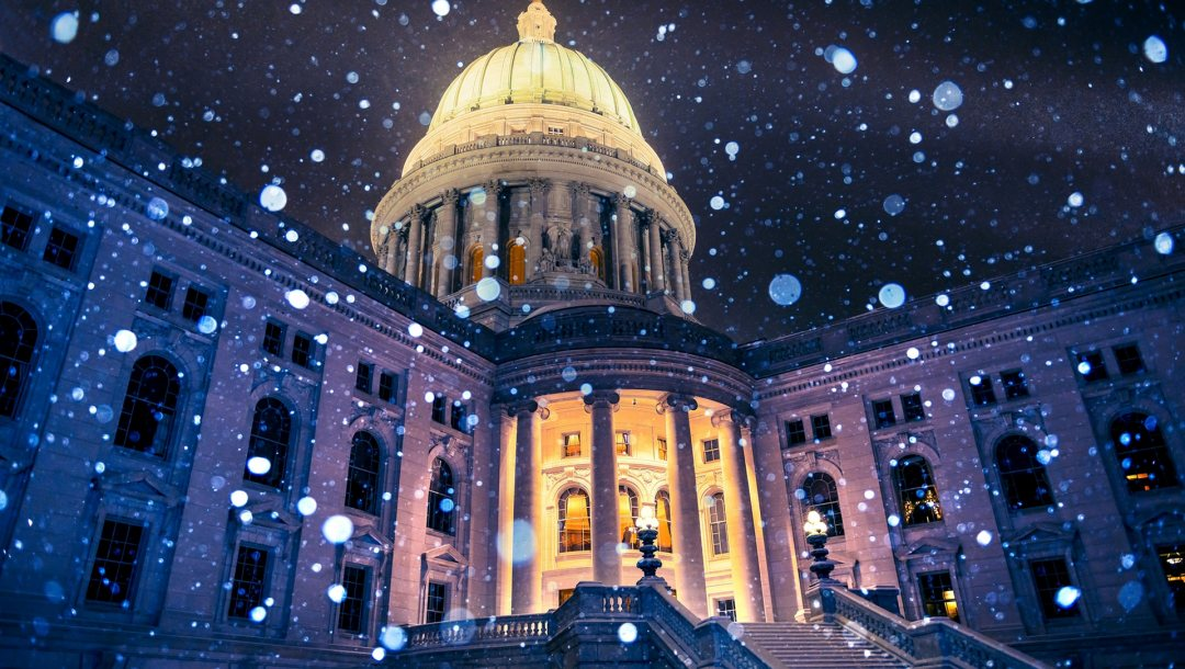 snowflakes,capitol,wisconsin