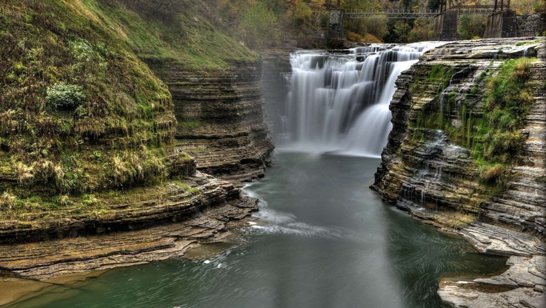 waterfall,park,state,letchworth