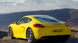 bright,yellow,porsche