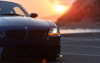 Bmw,Sunset
