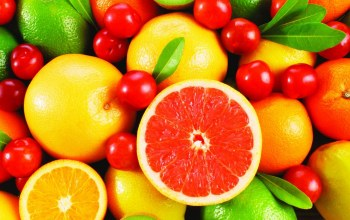 grapefruit,cherry,лайм,грейпфрут,lime,апельсин,Вишня,food,orange