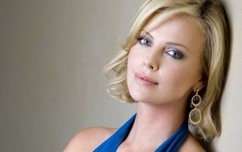 актриса,серьги,charlize theron,Шарлиз терон