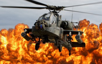 64,Apache,fire,from,Above