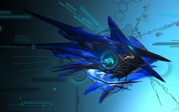 blue,Abstract,design