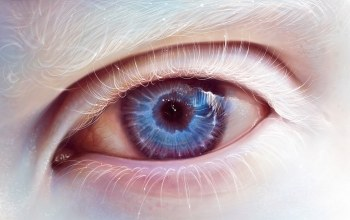 eye,blue,Albino