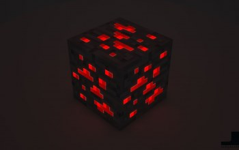 Minecraft,cube,Red