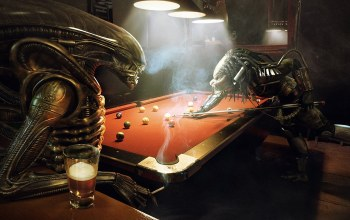 game,funny,Predator,Pool,Alien