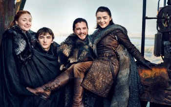 arya stark,Jon snow,season 7,tv series,a song of ice and fire,Game of thrones,Bran Stark