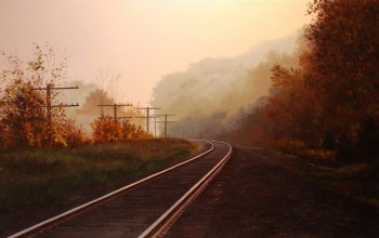 rail,autumn