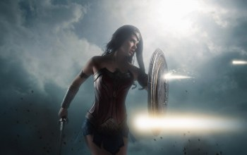 movie,film,strong,cinema,blade,dc comics,gauntlet,Themyscira,armor,wonder woman,shield,brunette,sword,cosplay