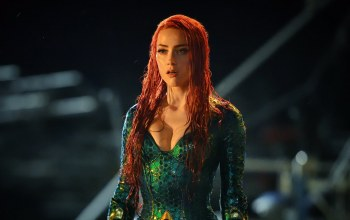 woman,red hairl,movie,redhead,Amber heard,film,cinema,oppai,Aquaman,Mera,dress,Red