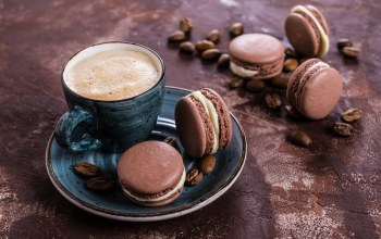 Макаруны,french,выпечка,almond,cookies,sweet,coffee cup,Macaron,крем,кофе
