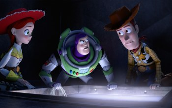 Toy Story 2,Jessie,Buzz lightyear,Sheriff Woody