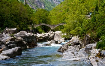 швейцария,Verzasca valley
