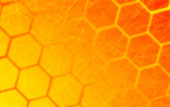 Abstract,Honeycomb