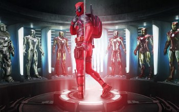 film,pistol,movie,seifuku,cinema,armor,Deadpool,suit,gun,uniform,weapon