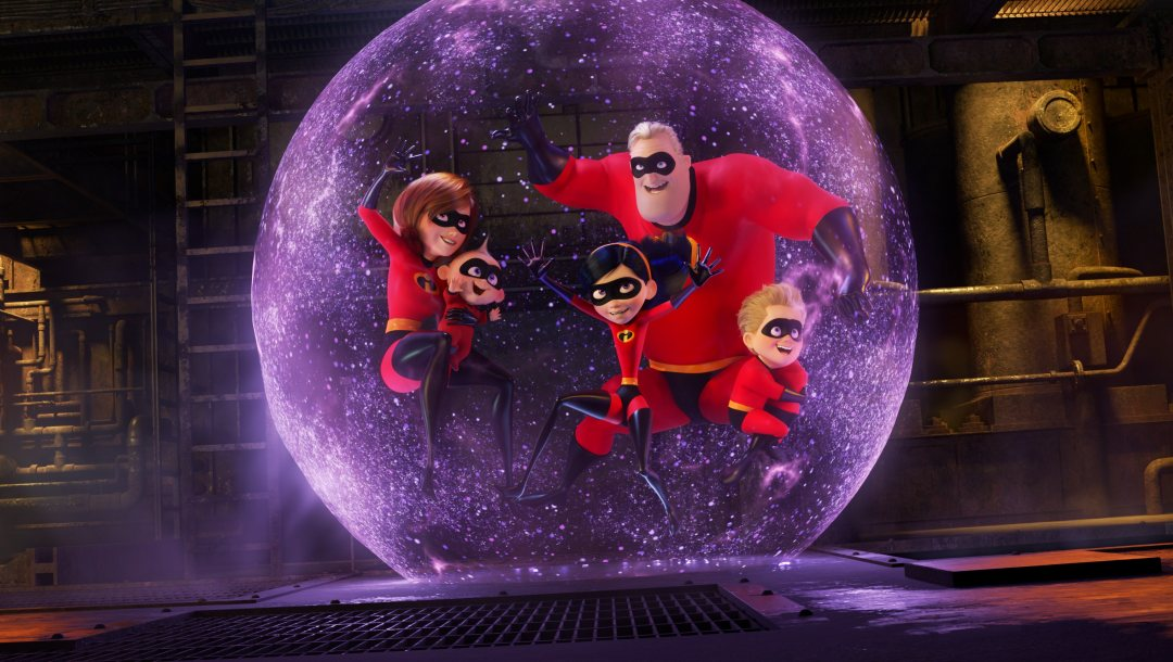 Exclusive,film,violet,The Incredibles 2,adventure,dash,Mr. Incredible,year,bob parr,lucius best,girls,sci-fi,Dashiell,family,Frozone,evelyn deavor,Boys,walt disney pictures,Samuel L. Jackson,2018,Bob Odenkirk,two,Incredibles 2,Pixar Animation,movie,Holly Hunter,Elastigirl,winston deavor,Incredibles,Catherine Keener,Craig T. Nelson,Sarah Vowell,Parr,Sequel,comedy,animation,superheroes,helen parr,action,pixar animation studios