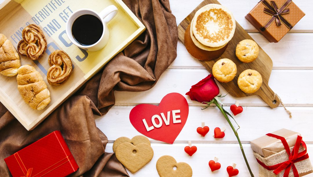 rose,heart,Valentines day,кофе,coffe,Red,box,завтрак,подарки