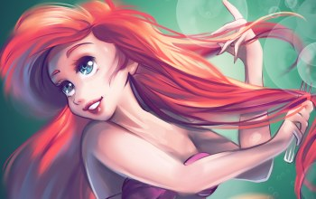 by Kachumi,The little mermaid,ariel