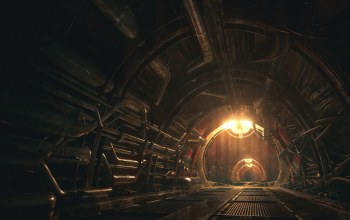 maintance tunnels,туннель,Concept art for the Iron Tower Studio