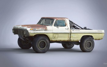 Trophy Rat,Ford F100,автомобиль