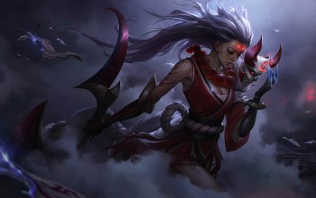 Blood Moon Diana,league of legends,warriors
