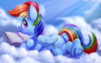 мультик,mlp:fim,by Tsitra360,rainbow dash,My Little Pony: Friendship is Magic