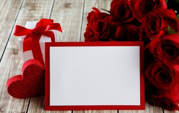 Valentine`s day,Red,gift,heart,roses,красные розы
