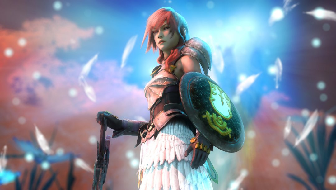 щит,Claire Farron,lightning,Final fantasy xiii