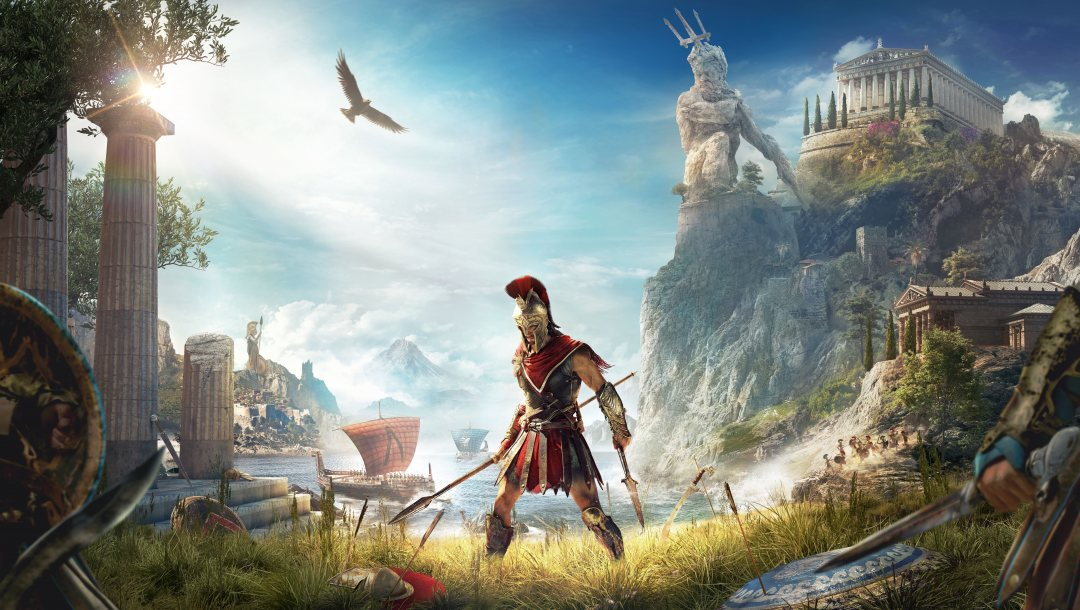 Assassin's Creed Odyssey,game,E3 2018,Odyssey,Assassin's Creed,ubisoft