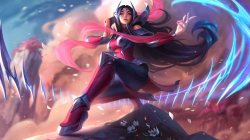 artwork,Ирелия,Лига Легенд,Rework,irelia,Blade Dancer,splash,league of legends,ножки,клинки