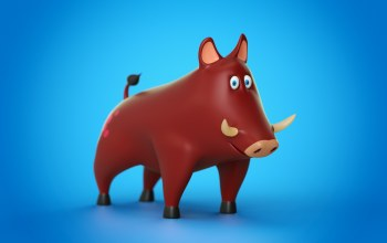 cinema 4d,Animal,pig,toy