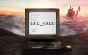 Bad Computer,monstercat,Music,cover,New Dawn