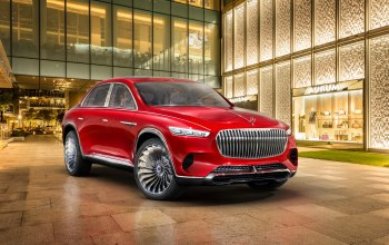 электрокроссовер,2018,Mercedes-Maybach,vision,maybach,Ultimate Luxury