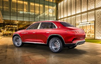 2018,Mercedes-Maybach,maybach,vision,вид сзади,Ultimate Luxury,электрокроссовер
