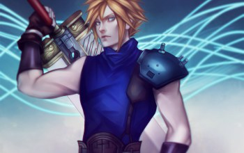 ff7,square enix,блондин,cloud strife,cloud,Final fantasy 7