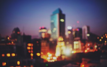 chile,bokeh,Santiago,downtown,Twilight,lights,dusk