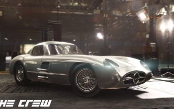 MERCEDES 300 SLR,Realistic Car Modeling,The crew