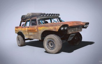Rat Wagon,Plymouth Fury Trophy Rat Station Wagon,автомобиль