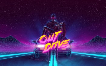 Out Drive,delorean dmc-12,Синти-поп,Synth,мужчина,неон,музыка,synthpop,Synth pop,electronic,delorean,Retrowave,Darkwave,Синти,synthwave,dmc-12