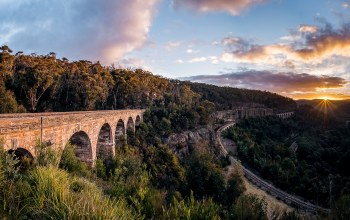 Clarence,Zig Zag Viaduct,Lithgow,new south wales