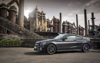 Mercedes-AMG C 43 4MATIC Coupé,2018,мерседес-бенц,Mercedes - Benz,graphite grey metallic