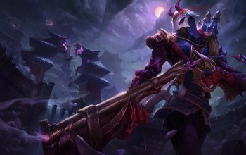Blood Moon Jhin,esben lash rasmussen,league of legends