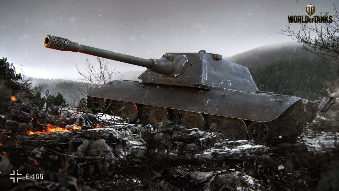 World of tanks,Cadaver Frio,e 100