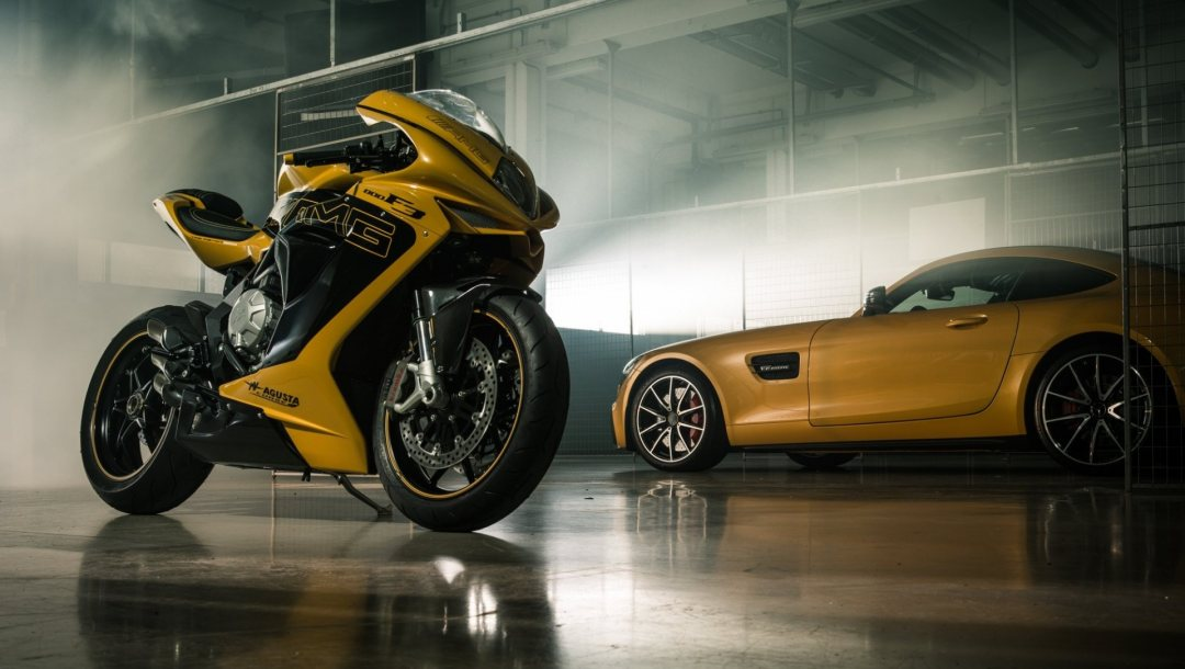 bike,italy,superbike,yellow,car