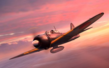 Japanese Navy,painting,aircraft,wwii,A6M5 Zero,fighter