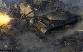World of tanks,руины,type 59