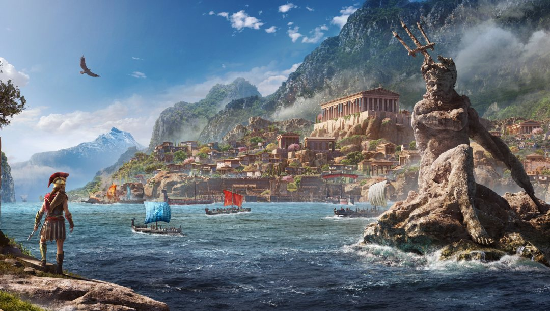 E3 2018,Assassin's Creed,Assassin's Creed Odyssey,Odyssey,ubisoft