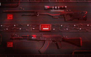sci-fi,game,cs:go,weapons,Counter Strike:Global Offensive,awp,ibuypower,redline