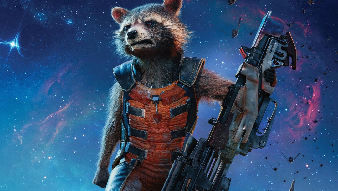 wallpaper,guardians of the galaxy,yuusha,cinema,bradley cooper,suit,hero,rifle,rocket raccoon,Guardians Of The Galaxy Vol. 2,weapon,gun,movie,film